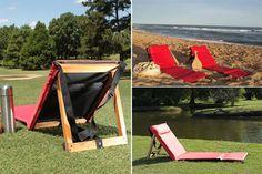 almohadones para reposeras de madera - Buscar con Google Diy Recycle, Recycling, Outdoor Furniture, Outdoor Decor, Garden Plants, Sun Lounger, Ideas Para, Beach, Google