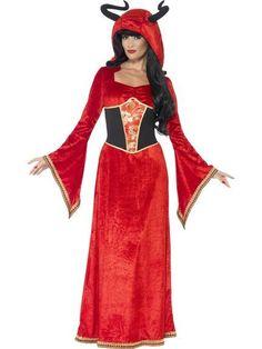 Demonic Queen Fancy Dress Costume