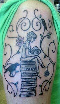 tatuajes de libros en el brazo - Pesquisa Google