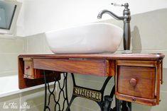 3.1 lavabo_singer_las_tres_sillas_3 Sink, Vanity, Bathroom, Table, Console, Loft, Home Decor, Unique Furniture, Antique Furniture