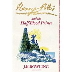 """Harry Potter and the Half-Blood Prince by JK Rowling. I'm working my way thorugh most of the audiobooks (read by the AMAZING Stephen Fry) while I work. This edition is part of the new """"signature"""" set with linocut cover illustrations by Clare Melinsky, which I got for Christmas."""