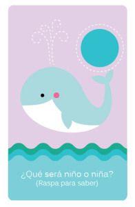¿Niño o niña? Anuncia la llegada de tu bebé con estas tarjetas.