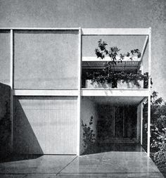 Killingsworth, Brady, Smith & Assoc. > Case Study House No. 25 -Frank House- > Diciembre 1962