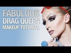 Fabulous drag queen makeup tutorial - YouTube