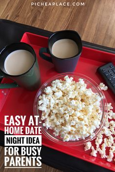 Try this easy Chocolate Peanut Butter Latte recipe for your next at-home date night - the perfect complement to a bowl of popcorn and your favorite movie! At Home Date Nights, Date Night Recipes, Latte Recipe, Snack Recipes, Snacks, Perfect Date, Good Dates, Next At Home, Chocolate Peanut Butter