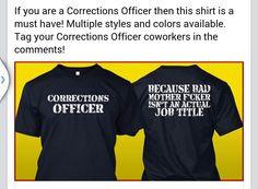 Correctional Officer Shirt