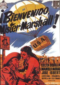 ¡Bienvenido, Míster Marshall! (1953) España. Dir: Luis García Berlanga. Comedia - DVD CINE 129