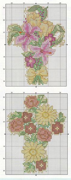 Floral Crosses - # 2