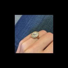 New Bond Street is an incredible Victorian era yellow gold cluster ring centering a EGL certified Old European Cut diamond. Hexagon Engagement Ring, Engagement Rings, Bond Street, European Cut Diamonds, Diamond Cluster Ring, Victorian Era, Diamond Cuts, Gold, Jewelry