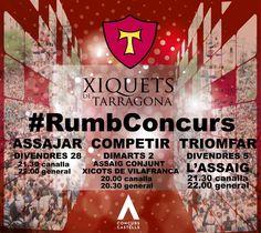 #RumbConcurs 2012. Xiquets de Tarragona.