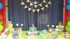 Lego -Tag and Banner by Ali's Creations-