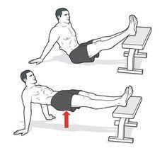 Straight-Leg Crab Hip Raise http://www.menshealth.com/fitness/floor-exercises/slide/3