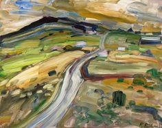 Rene Richard - Paysage x Oil on board Canadian Painters, Objet D'art, Sculpture, Landscapes, Paintings, Inspired, Board, Inspiration, Objects