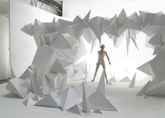 ArjoWiggins by Gregoire Alexandre, Contemporary Poetry, Art Installation, White… Gregoire Alexandre Photography takes theatrical elements into dynamic composition to make vibrant and imagination filled photos. Contemporary Poetry, Pavillion, Paper Installation, Art Installations, Ange Demon, Art Original, Partys, Sculpture, Stage Design