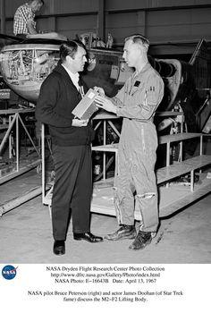 Scotty visits NASA, 1967