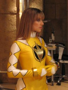 Kira Ford is the Dino Thunder Yellow Ranger of the Dino Rangers. Kira is the first female Yellow Ranger in a skirt since Ashley (since the previous four females were all based on male Sentai characters).