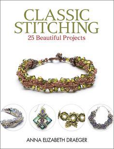 Make beautiful stitched jewelry designs! $21.99