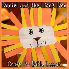 Bible Lesson: Daniel and the Lion's Den + Craft Tutorial