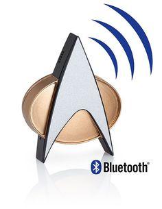 "Star Trek TNG Bluetooth ComBadge <a href=""http://geekxgirls.com/article.php?ID=7622"" rel=""nofollow"" target=""_blank"">geekxgirls.com/...</a>"