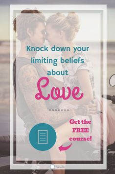 Do you know what makes it hard for you to get the love you crave in romantic relationships? It's your limiting beliefs about yourself, love, and men. Sign up for this course that will help you knock down your limiting beliefs so you can enjoy your relationship or find new love if you are single. And as a bonus, you will get a course on how to talk to men that will draw them closer to you instead of making feel defensive. Did I mention the course is absolutely FREE! #love #dating…