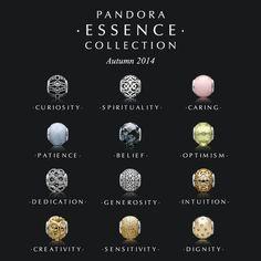 pandora essence charm meanings