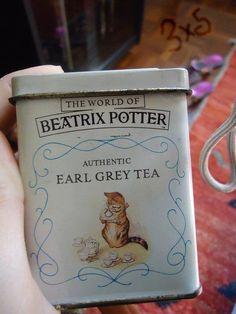 Beatrix Potter earl grey tea