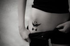 I love pandas i really want this tattoo :)