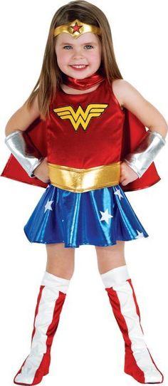 Toddler Girls Wonder Woman Costume