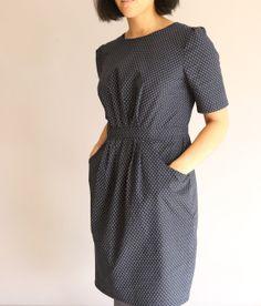 Coffee Date Dress, pattern Runway