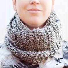 Crochet Pattern - Wanderlust Infinity Cowl (scarf) Crochet cowl pattern - infinity cowl pattern - crochet infinity scarf pattern - over sized cowl - ombré cowl  - light weight cowl - winter crochet - chunky crochet scarf