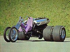 Allison powered trike.