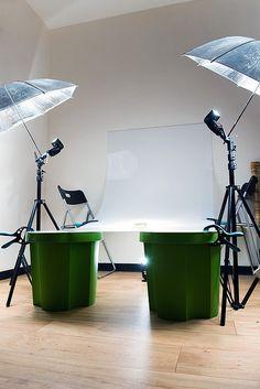 DIY studio light table. by Pieter Baert, via Flickr