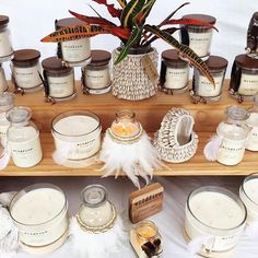 Beautiful candles by for at ✨ Beautiful Candles, Display, Floor Space, Billboard
