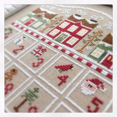 Country cottage needleworks  advent calendar.
