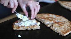 saj bread recipe - YouTube