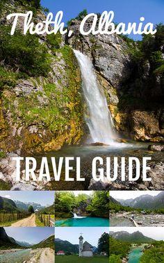 Theth Albania, Travel guide. mountains, hike, explore