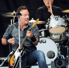 The legendary Bruce Springsteen and the E Street Band perform at the Olympiahalle theatre in Munich. (July 3, 2009 - Photo by FlynetPictures.com)