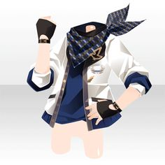 (Tops) Here Comes! Anime Outfits, Boy Outfits, Cute Outfits, Manga Clothes, Drawing Clothes, Anime Hair, Anime Eyes, Character Inspiration, Character Design