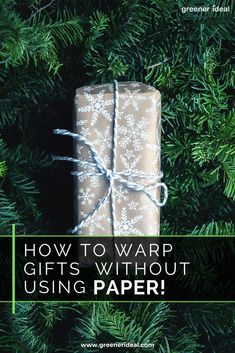 There's no need for paper when you have ingenious gift wrap already lying around your house! How To Wrap Your Gifts Without Paper | Ecofriendly Wrapping Ideas | Go Paper Free | Ultimate Guide To Wrapping | Gift Wrapping Ideas | Gift Wrapping Ideas With Household Things | Creative Gift Wrapping Ideas | Best Gift Wrapping Ideas | Beautiful Gift Wrapping Ideas |  #gift #christmas #christmasgift #wrapping #wrappingideas #gifts #giftwrapping