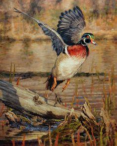 Original Oil Painting Whitetail Deer Ryan Kirby