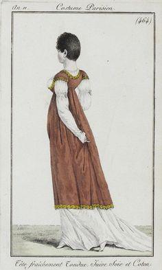 eregwen: Короткие стрижки на французских модных гравюрах начала XIX века