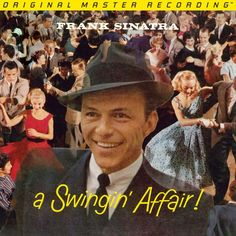 FRANK SINATRA - A Swingin' Affair (NUMBERED LIMITED EDITION HYBRID MONO SACD)