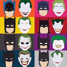 Every #Batman has a #Joker #DC #dccomics #comic #comics #infographic #Gotham…