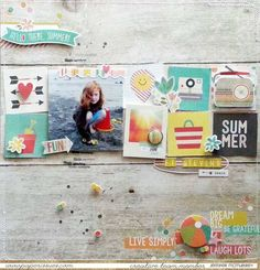 Paper Issues: Product Spotlight *Simple Stories - Summer Vibes* - Jennifer McMurtrey