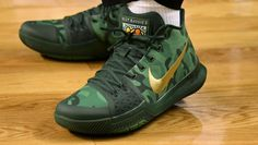 Kyrie Irving Nike Kyrie 3 Green Camo Best Buddies PE | Sole Collector