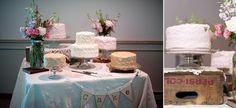Vintage, wedding cak