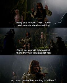 Pirates of the Caribbean: On Stranger Tides  And that's the way wars have been going on for years