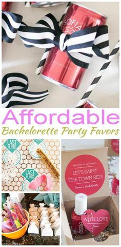 14 Affordable bachelorette party favor ideas for your guests. Fun and easy Affordable bachelorette party favor ideas the whole tribe will love.