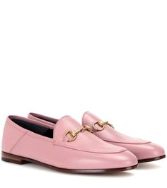 Gucci - Horsebit leather loafers - Use yours to bring a dose of sophistication to breezy dresses. - @ www.mytheresa.com