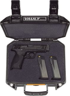 V100 Vault Small Pistol Case | Pelican Official Store Pistol Case, Tactical Bag, Gun Cases, Small Case, Vaulting, Guns, Official Store, Weapons, Confidence